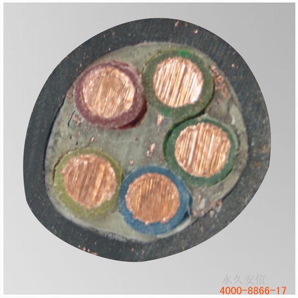 国标yjv5×4铜芯电缆 五芯铜芯电缆 铜芯电力电缆图片