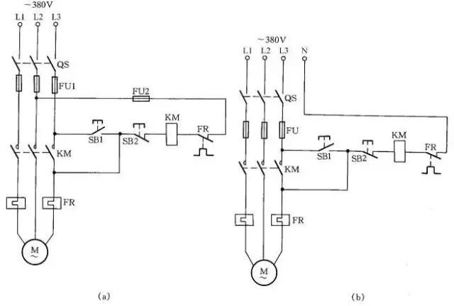 电缆进电动机接线