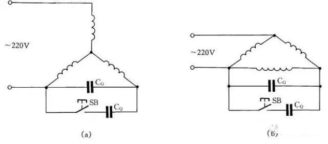 图19 三相异步电动机改为单相运行线路 20    热继电器校验台
